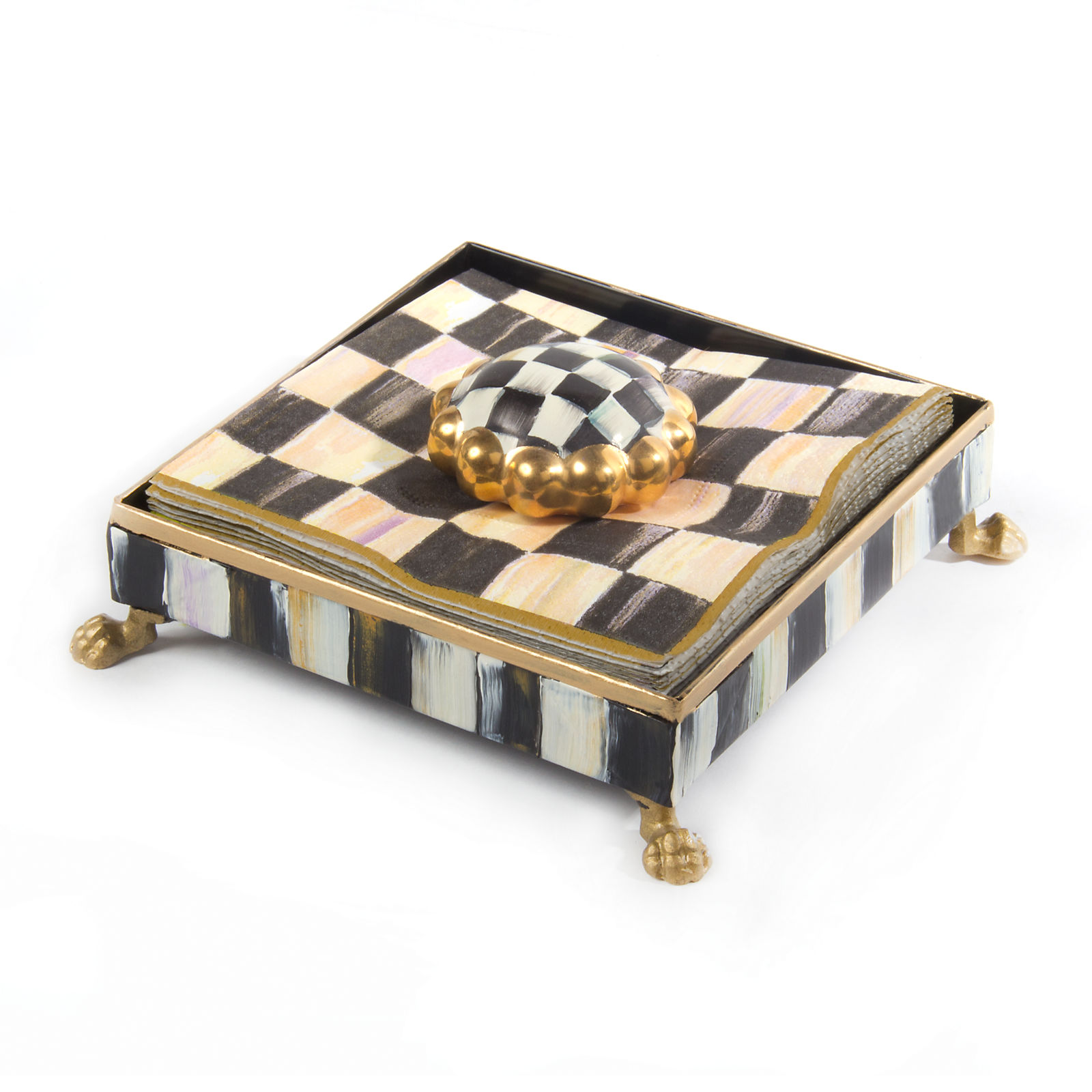 Салфетница Courtly Check - Gold 30207-040GLD