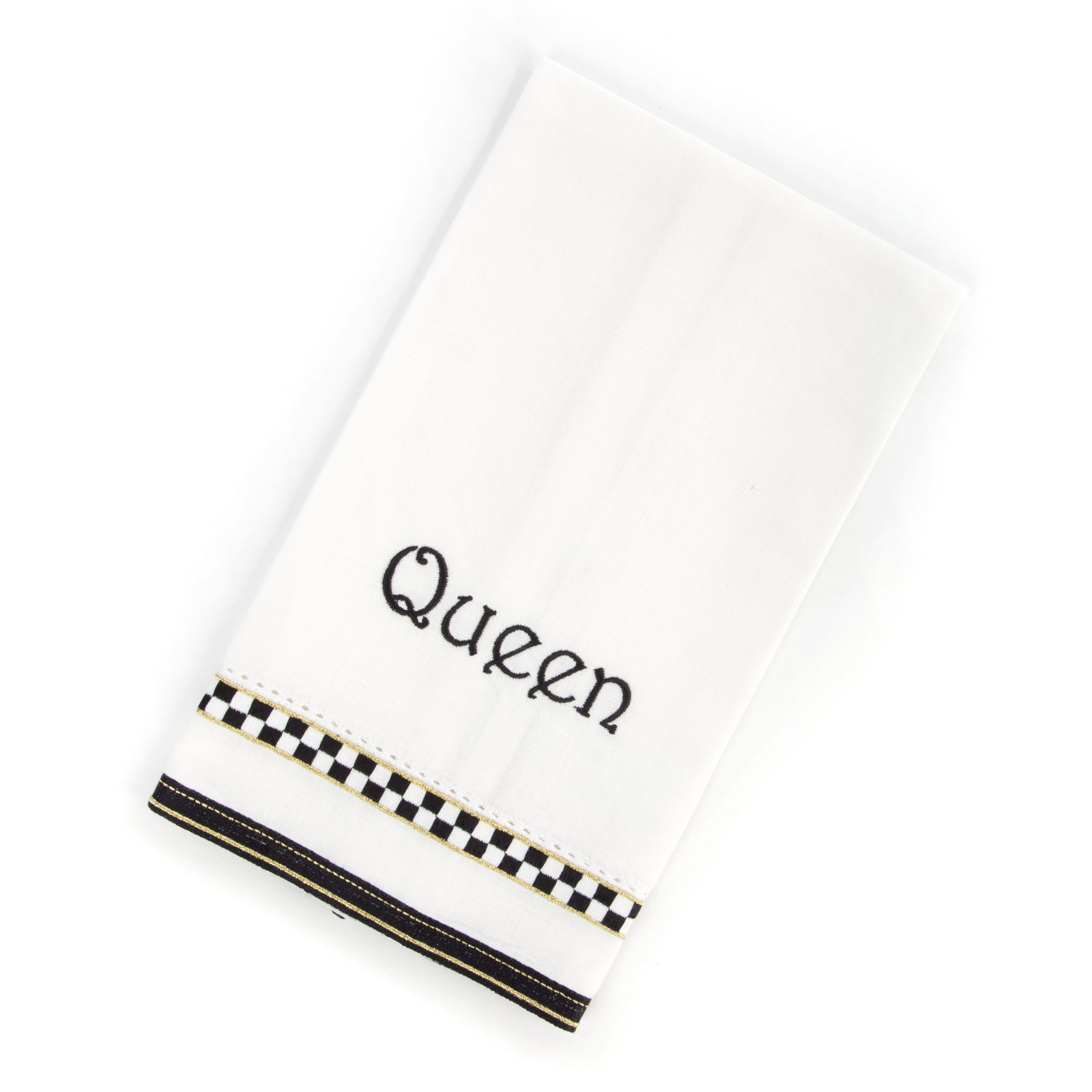 Полотенце «QUEEN» Black & White Check 72751-705Q