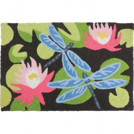 КОВРИК ДЛЯ ВАННОЙ FLOWERING WATER LILY Jellybean JB-BL002
