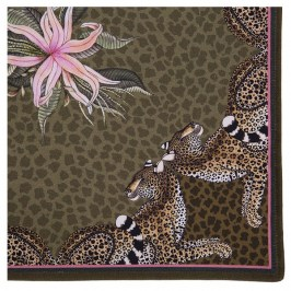 Набор салфеток Ardmore Leopard Lily Napkins in Safari 2шт. ALL-Napkin