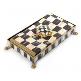 Салфетница 12х22 Courtly Check 30208-040GLD