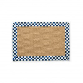 КОВЕР 61Х92 СМ royal check sisal 348-02613
