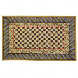 Ковер 274х366 см Courtly Check Purple & Green 350-08081