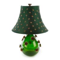 Лампа настольная большая Emerald Rose 13123-001