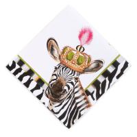 Салфетки бумажные 12Х12 Different Stripe 32900-3701