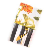 Салфетки бумажные 10х20 Frog Courtly Stripe 32902-100