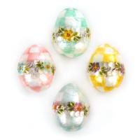 Набор пасхальных яиц 4 шт. Pastel Floral 35517-014
