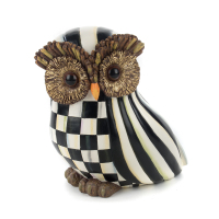 Декоративная фигурка Owl Courtly Stripe 35518-001B