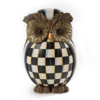 Декор Owl Courtly Check Autumn Decor 35518-001