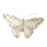 Настенный декор Parchment Check Butterfly 35519-1303