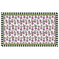 КОВЕР ВИНИЛОВЫЙ  92х153 см dancing beets  Floor Mat 360-11841