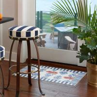 КОВЕР ВИНИЛОВЫЙ  92х153 см chinoiserie Floor Mat 360-24141