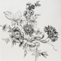 Обои Wild Rose - Ivory 36506-050