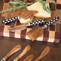 Сервировочные ножи для сыра - 3шт. Dotty 37293-001