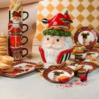 Набор тарелок 4 шт. Santa's Reindeer 37623-1106