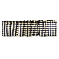 Штора Courtly Harlequin Cafe Valance 76184-620