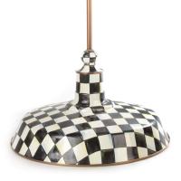 Светильник подвесной металл Д 45 см Courtly Check 84412-040