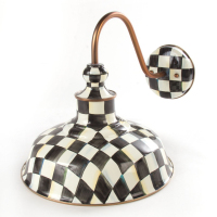 Бра уличные металл Д 30 см Courtly Check 84450-040