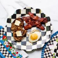Тарелка обеденная «Лепесток» 25 см Courtly Check 89227-40S