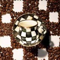 Кофейная пара для эспрессо Courtly Check 89273-40