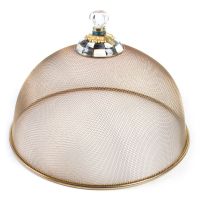 Купол для блюд большой сетка Courtly Check 89445-40
