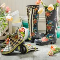 Сапоги высокие - размер 37 Flower Market 91601-0418
