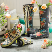 Сапоги высокие - размер 38 Flower Market 91601-0419
