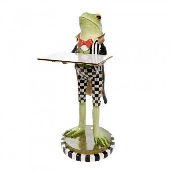 Декоративная фигура Fergal the Frog Butler 35514-1439