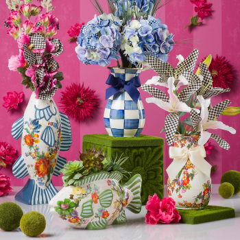 Ваза Fish Planter Flower Market 35514-1447