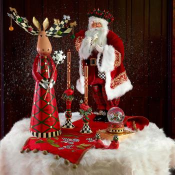 Набор декоративных фигур 2 шт. Night Cap Cardinals 35514-1540