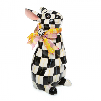ДЕКОРАТИВНАЯ ФИГУРА standing bunny courtly check 35514-1601