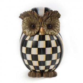 Декор Owl Courtly Check Autumn Decor 35518-001