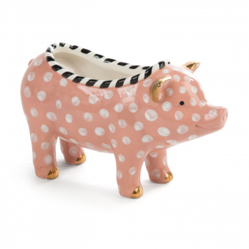 Кашпо «Свинка» MacKenzie-Childs 35518-028