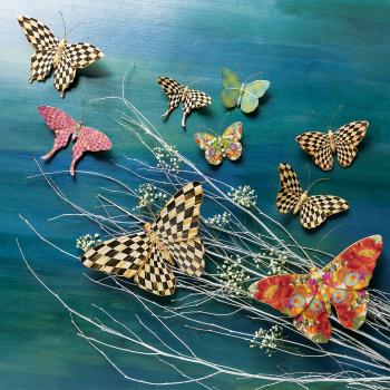 Настенный декор набор 2 шт. Butterfly Duo - Pasture 35519-1201
