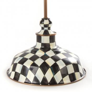 Светильник подвесной металл Д 30 см Courtly Check 84410-040