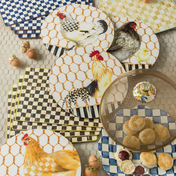 Блюдо сервировочное «Лепесток» 40 см Royal Check 89219-240S
