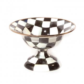 Ваза малая на подставке креманка Courtly Check 89222-40