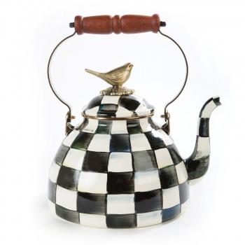 Чайник с птичкой 3 литра Courtly Check 89236-40B