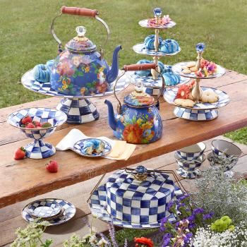 Ваза для сладостей двухъярусная Royal Check 89425-240