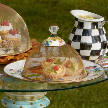 Купол для блюд малый сетка Flower Market 89444-95